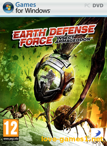 Обложка Earth Defense Force: Insect Armageddon (2011) PC | RePack by Mizantrop1337