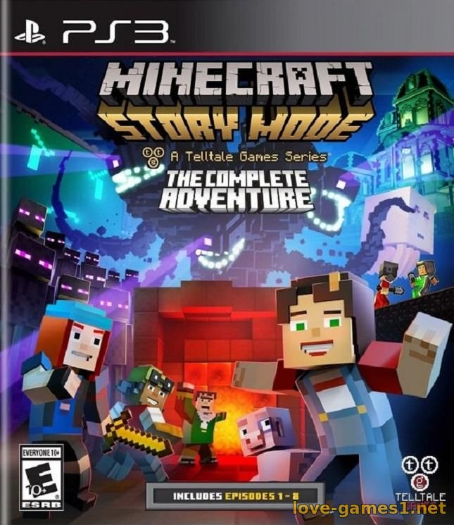 Обложка [PS3] Minecraft: Story Mode - The Complete Adventure [EUR/RUS]