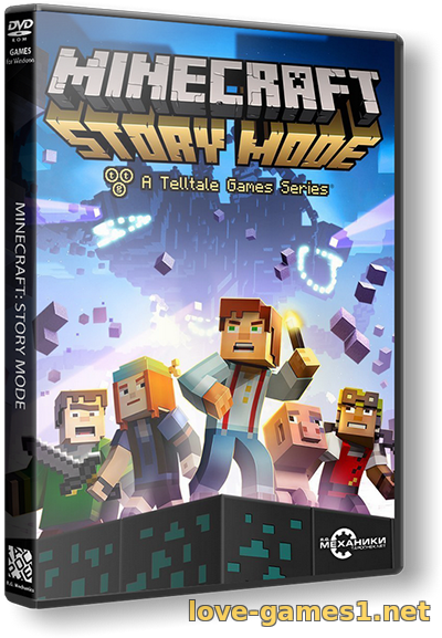 Обложка Minecraft: Story Mode - A Telltale Games Series. Episode 1-8 (2015) PC | RePack от R.G. Механики