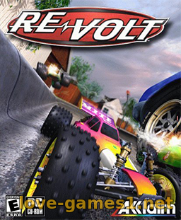 Обложка Re-Volt (1999) PC  [GOG]