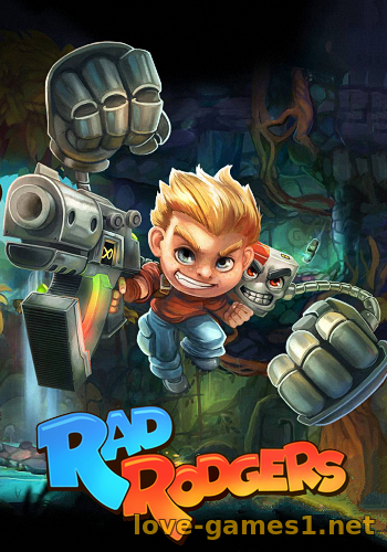 Обложка Rad Rodgers: World One (2016) PC [GOG]