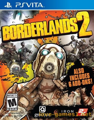 Обложка [PS Vita]Borderlands 2 [EU/RUS] [1.09] [Mai V233.1]