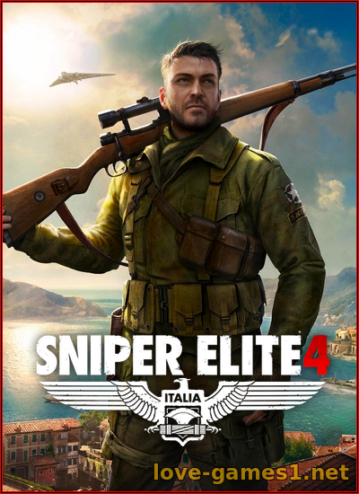 Обложка Sniper Elite 4 - Deluxe Edition (2017) [L|Steam-Rip] by Fisher
