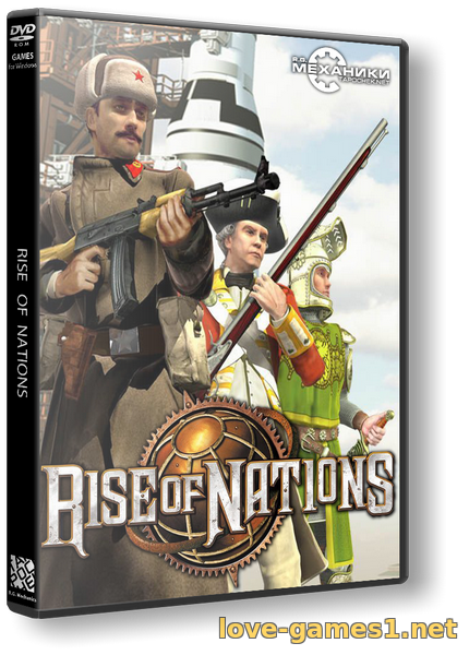 Обложка Rise of Nations: Extended Edition (2014) PC | RePack от R.G. Механики