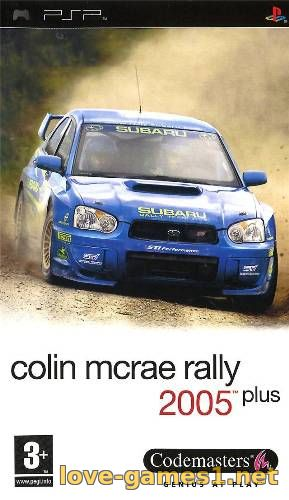 Обложка [PSP] Colin McRae Rally 2005 Plus [FULL] [CSO] [ENG] [RUSSound]