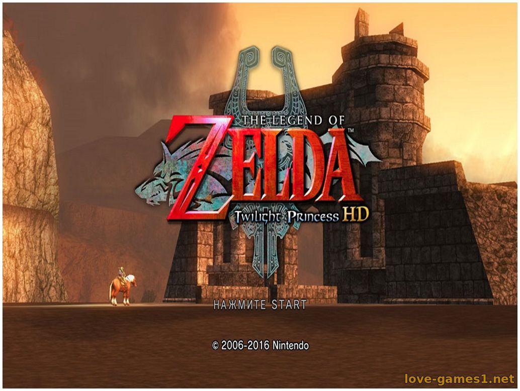 Скачать [Wii]The Legend of Zelda: Twilight Princess HD [PAL, RUS
