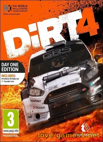 Обложка DiRT 4 (2017) PC Steam-Rip