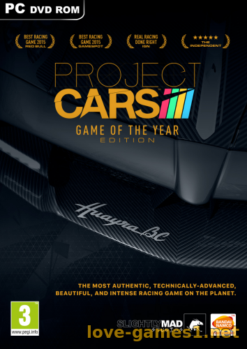 Обложка Project CARS: Game of the Year Edition [v 11.2] (2015) PC | RePack от xatab