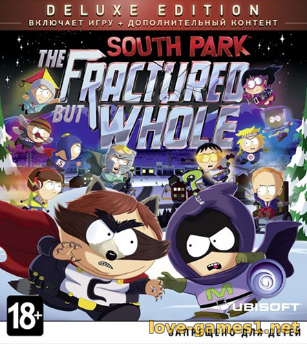 Обложка South Park: The Fractured But Whole - Gold Edition (2017) PC | RePack от xatab