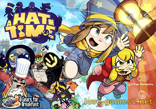 Обложка A Hat in Time (2017) PC