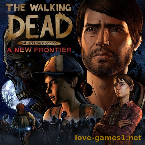 Обложка The Walking Dead: A New Frontier - Episode 1-5 (2016) PC | Repack от R.G. Catalyst