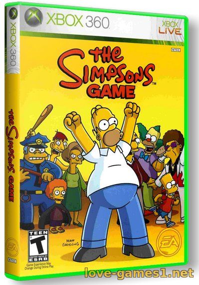 [Nintendo Wii] The Simpsons Game [PAL, ENG]